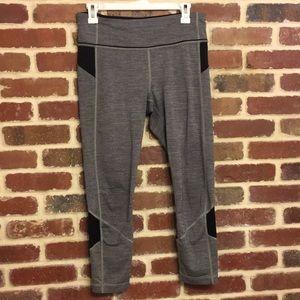 Lululemon gray and black leggings